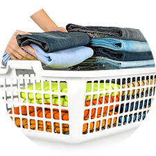 Wash, Dry, Fold <br>Laundry Service