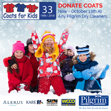 Donate Coats For Kids Now – Oct 13th